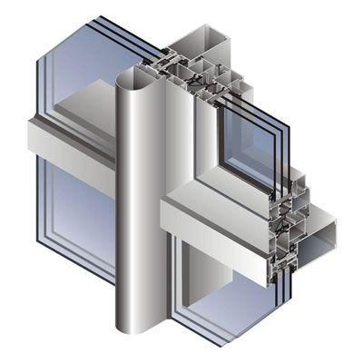 Примеры работ остекления алюминиевыми профилями