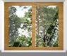 Окна из дерева сосны
